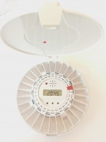 Electronic Pill Dispenser with open white lid | MedControl